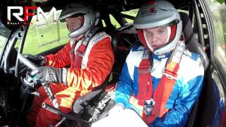 Ed O'Callaghan (Driver) and Ger Clancy (Navigator) in their Ford Escort Mk2 on Stage 8 of the Circuit of Munster Stages Rally 2016. Footage courtesy of Rally Focus Media.