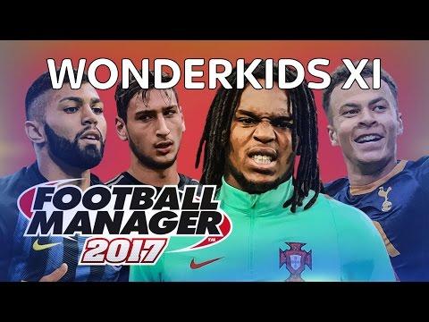 WONDERKİDS TOP 11 LİSTESİ | Football Manager 17