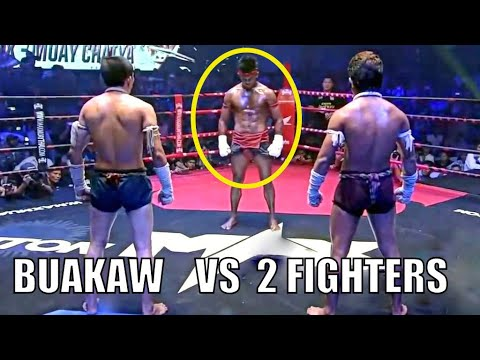 BUAKAW vs 2 FIGHTERS