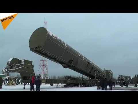 فيديو.. صاروخ سارمات الذي تفاخر به #بوتين