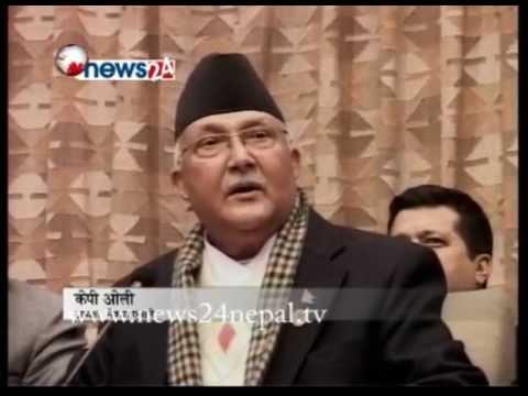 अव संविधान निर्माण प्रक्रियाले गति लिएको :केपी शर्मा ओली