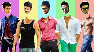 Guess The Actor Game Top 5 Tollywood Handsome Actor | Commment Your Score