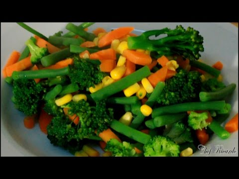 The Best Vegetables To Eat For Healthy Weight Loss | Recipes By Chef Ricardo