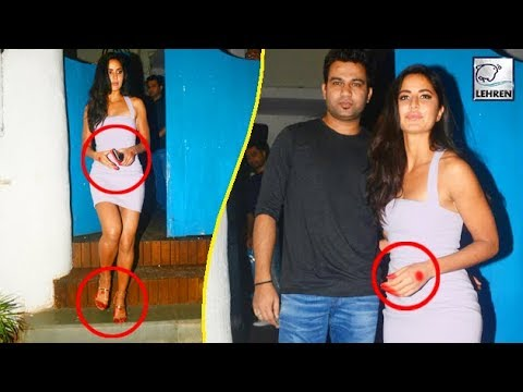 Katrina Kaif SPOTTED With Traditional Alta On Hand