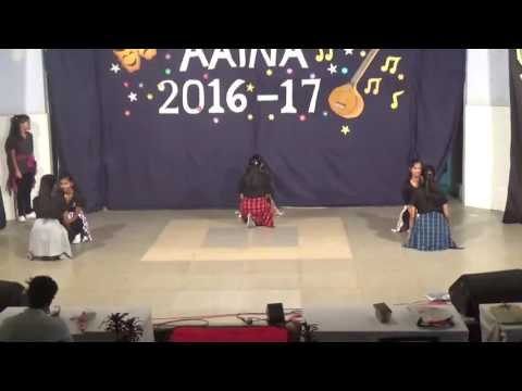 Aina fest 2016 #AEJC Mumbai choreography by akash sir (видео)