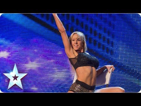 Keri - Dancer Keri Graham gets freaky with Simon Cowell