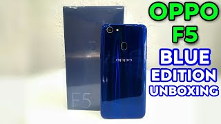 Video OPPO F5 Blue Edition Unboxing & First Look MP3, 3GP, MP4, WEBM, AVI, FLV Februari 2018