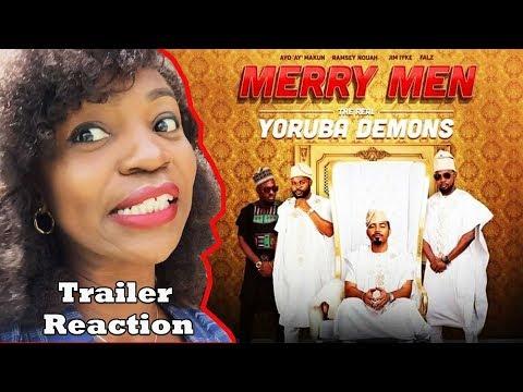 MERRY MEN MOVIE TRAILER REVIEW