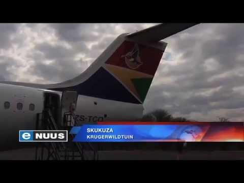 Skukuza-lughawe kry 'n nuwe baadjie / Skukuza airport gets a makeover