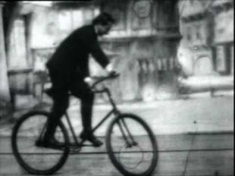 Thomas A. Edison – Bicycle Trick Riding No.2