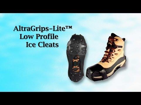 AltraGrips-Lite Low Profile Ice Cleats