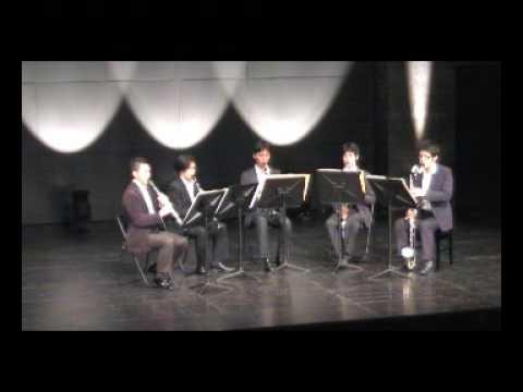 Gradius for Clarinet Quintet(グラディウスをクラリネット5重奏で演奏してみた)