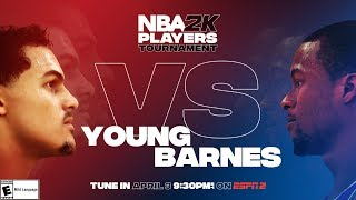NBA2K Tournament Full Game Highlights: Harrison Barnes vs. Trae Young by NBA
