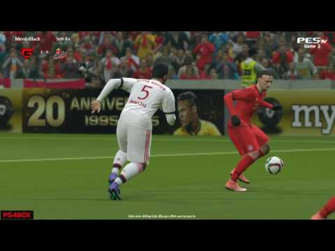 [PES 2016] [G] MenInBlack vs [ST] Sơn Ka | Showmatch 1vs1 | 20/8/2016