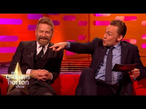 Tom Hiddleston u Grahama Nortona
