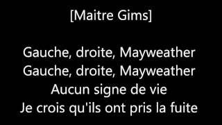 Maître Gims - Mayweather ft. Djuna Family (Paroles)