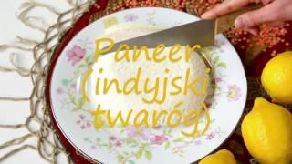 Przepis na paneer - indyjski ser biały