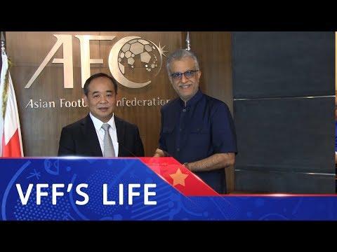 Chủ tịch VFF Lê Khánh Hải gặp gỡ lãnh đạo AFC tại Malaysia | VFF Channel - Thời lượng: 3 phút, 3 giây.