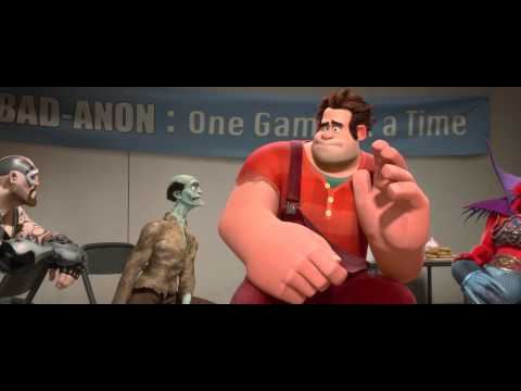 video que muestra el trailer de la pelicula Rompe Ralph!!!