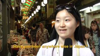 Travelers' Voice of Kyoto: NISHIKI MARKET Area Interview 008