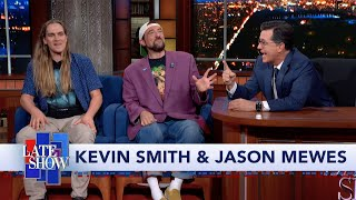 Kevin Smith and Jason Mewes Explain Why 'Clerks' Was In Black and White