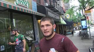 Video UFC Fighter Khabib Nurmagomedov talks bought fighting Conor McGregor MP3, 3GP, MP4, WEBM, AVI, FLV Mei 2019