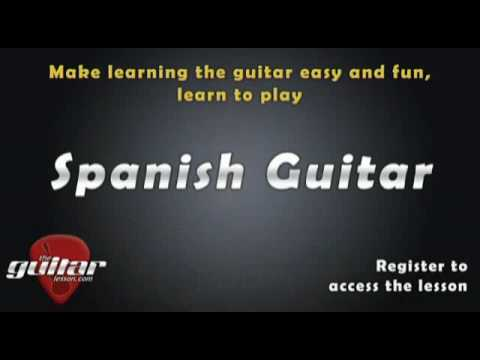 Spanish Guitar Lesson Preview