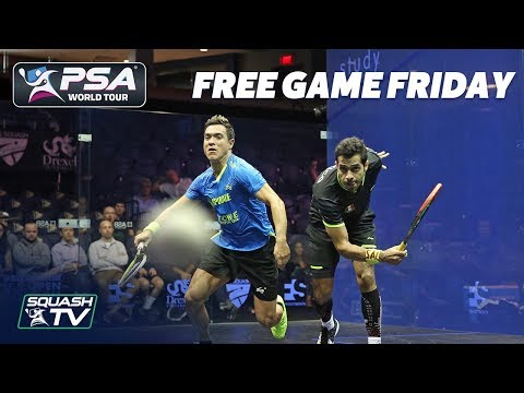 Squash: Salazar v Rodriguez - Free Game Friday - US Open 2018
