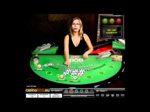 Live Dealer Blackjack 888 Video
