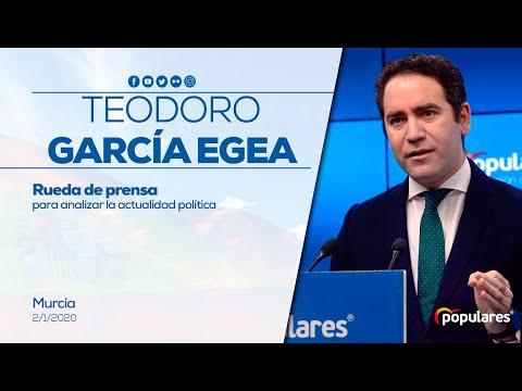 """Teodoro García Egea: """"Sánchez ha firmado el pacto del retroceso, de la crisis, de la inestabilidad y de la ruptura del consenso constitucional"""""""