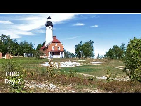 Play video Backpacking Pictured Rocks National Lakeshore - May 28, 2021