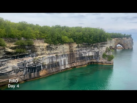 Play video Backpacking Pictured Rocks National Lakeshore - May 30, 2021