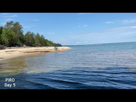 Play video Backpacking Pictured Rocks National Lakeshore - May 31, 2021