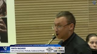 Nikita Nazarov plays Prelude, Cadence et Finale by Alfred Desenclos