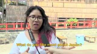 Travelers' Voice of Kyoto:FUSHIMI INARI Area Interview 008