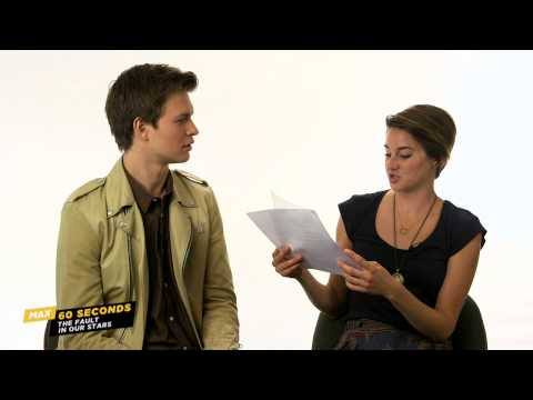MAX 60 Seconds with The Fault in Our Star's Ansel Elgort (Cinemax)