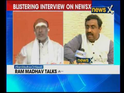 BJP's Ram Madhav speaks to NewsX's Priya Sahgal on poll results
