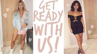Gambar cover GET READY WITH US | NIGHT OUT | Sophia and Cinzia
