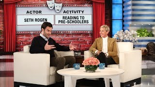 Comedian Bill Hader is known for his impressions, so Ellen put him to the ultimate skills test.