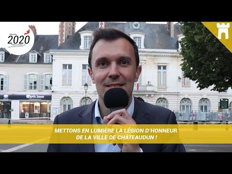 Mettons en lumière la Légion d'honneur de la ville de Châteaudun !