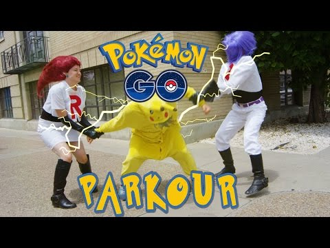 Download Pokémon GO Meets PARKOUR in REAL LIFE! HD Mp4 3GP Video and MP3