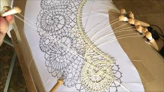 New Pattern For Bobbin Lace Gorgeous Collar Easy  To Make