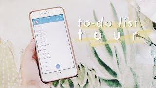 How I Organize My To Do List | Wunderlist Tour