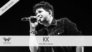 Khuda jaane Live by KK at IIM Indore