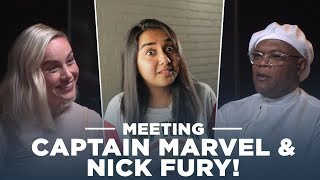 Meeting Captain Marvel and Nick Fury! | #RealTalkTuesday | MostlySane