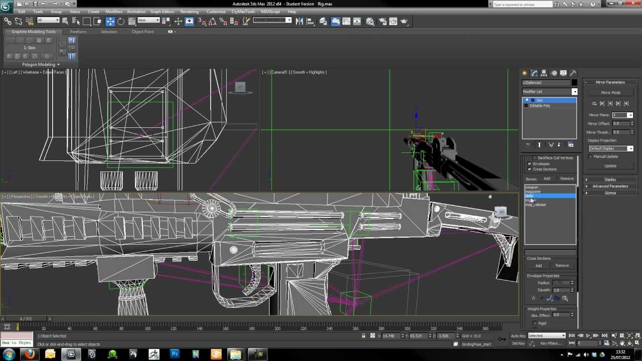 Creating First Person Weapons Tutorial: Part One CryENGINE 3
