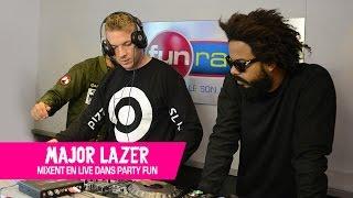 Major Lazer en mix exclusif pour Fun Radio