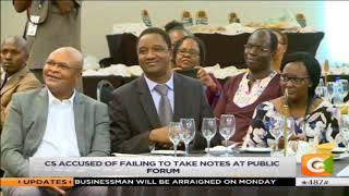 President Uhuru slams Kiunjuri in public again