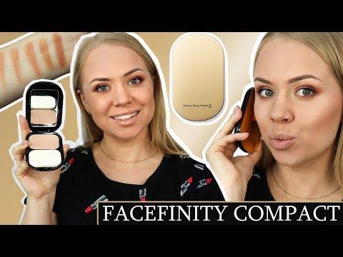 Facefinity Compact - MAX FACTOR (test nowej wersji pudru)