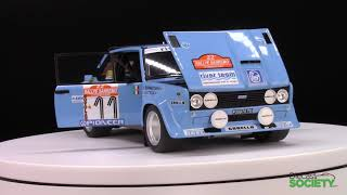 Kyosho Fiat 131 Abarth River Team #11 Rally Sanremo